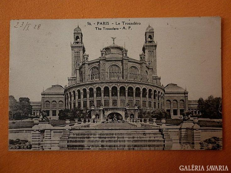 Párizs Le Trocadéro 1928