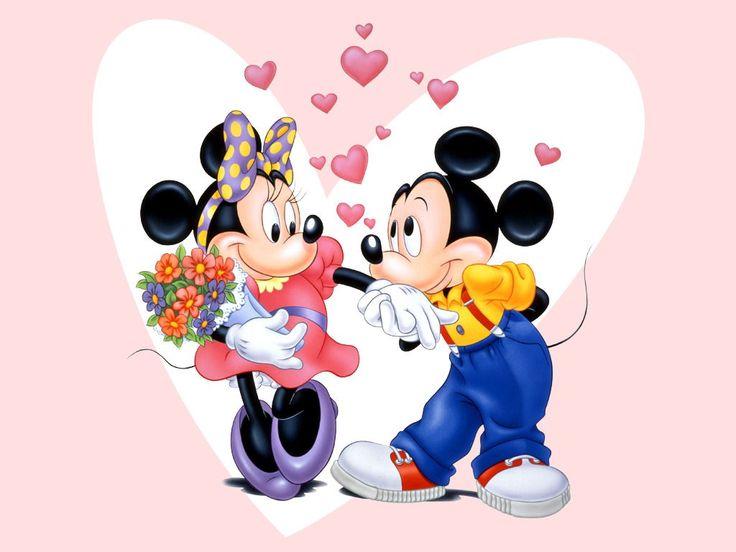 Disney Cartoon Valentine Wallpapers In HD