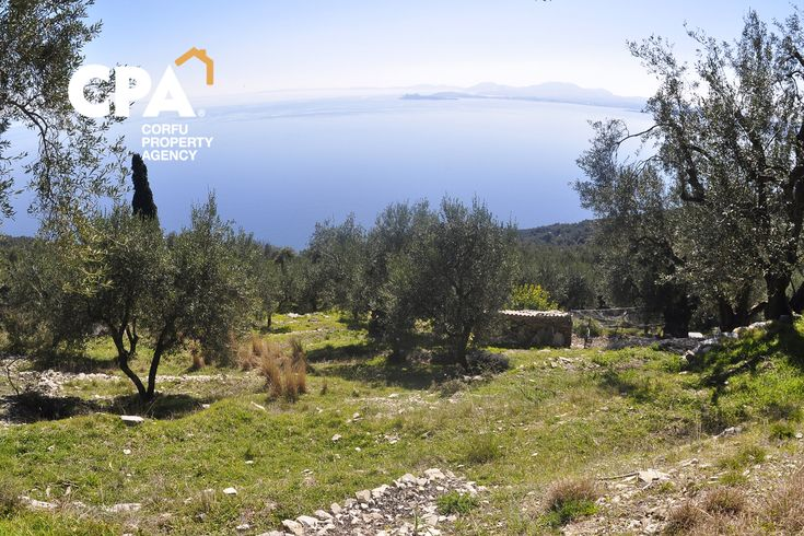 Building plot for sale with panoramic sea views in Nissaki North Corfu-CPA 3640 From: www.cpacorfu.com/en/properties/3640