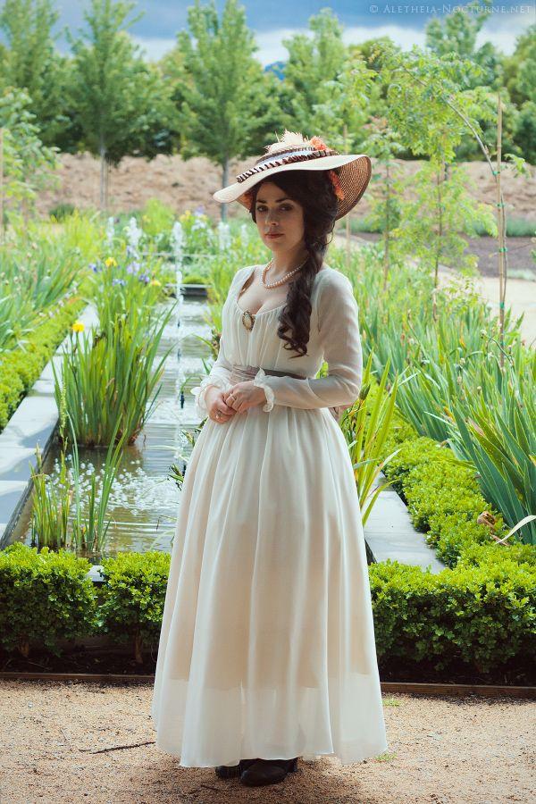 Bergère Hat for a Garden Stroll