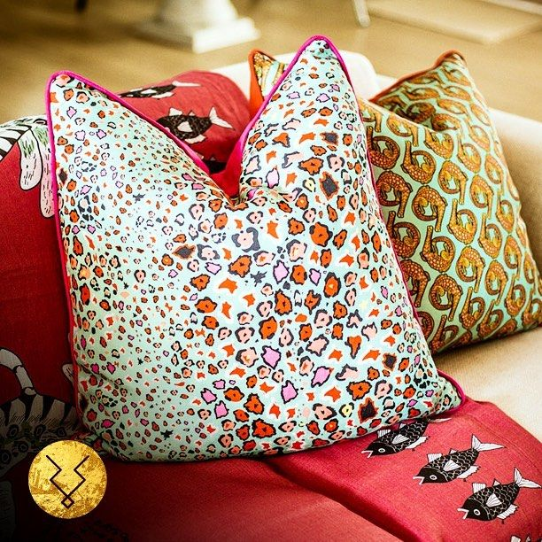 Soft furnishings from Kudu Home #kuduhome #kudu #african #africa #southafrica #home #homedecor #decor #design #instadecor #instadesign #instagood #photooftheday #instagram #cushion #throw #red #pink #orange