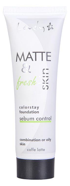 Lovely, podkład Matte&fresh skin