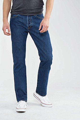 Levi's® Homme Jeans 501® Original Straight Fit: Type de pantalon :Regular Coupe de pantalon :Droite Hauteur de taille :Normale Motif :…