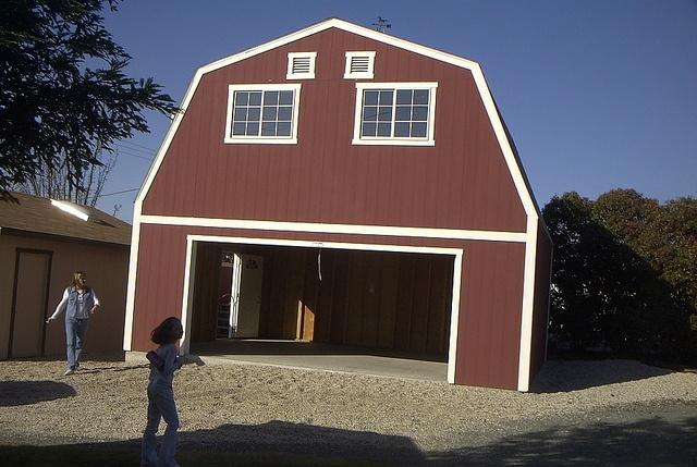 Premier Tuff Shed Carport : Premier garage barn by tuff shed storage buildings