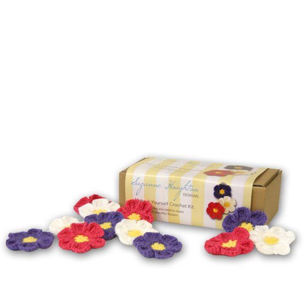 Crochet Flower Kit | Gift idea for kids aged 8+ | perfect for beginners | DIY | Krinkle Gifts