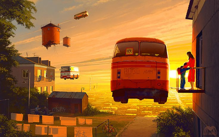 Homeland 8 AM by Alex Andreev