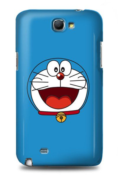 Most memorable and enjoyable cartoon, the Cat robot from the future Doraemon. This blue doraemon case is for Samsung galaxy note 2. But don't worry it's also available for samsung galaxy note 3, samsung galaxy s3, and s4, iPhone 4, 4s, 5, 5s, 5c.  http://www.zocko.com/z/JHQn8