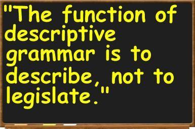 What Is Descriptive Grammar?: T.G. Tucker, <i>English Grammar: Descriptive and Historical</i> (Lothian, 1916)