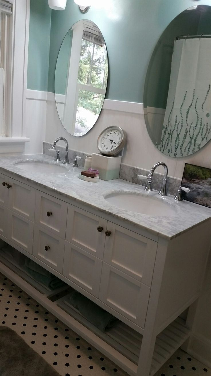 45 best Small Retro Bathroom Remodel with Double Vanity ...