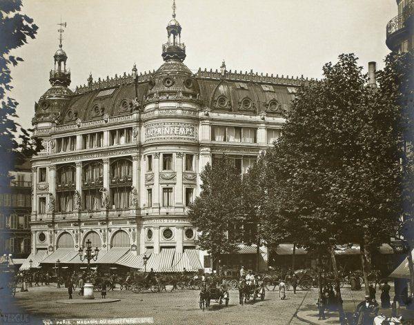 Grands magasins du Printemps, Paris, 1889