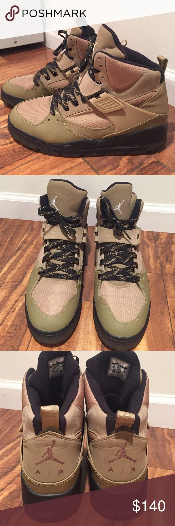 Nike Air Jordan boots. 😍⭐️😍 In perfect condition, Air Jordans.  Men's size 12. Nike Shoes Boots