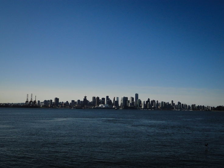 View of Downtown Vancouver from Lonsdale Quay (North Vancouver)