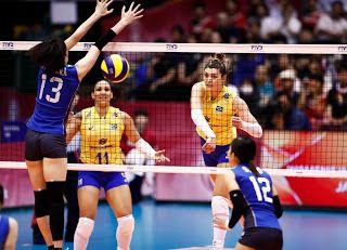 Blog Esportivo do Suíço:  Brasil desperdiça match point, perde para o Japão e se complica no Grand Prix
