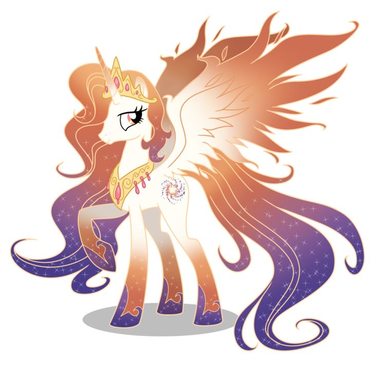 Queen Galaxia (princess celestia and luna's mom)