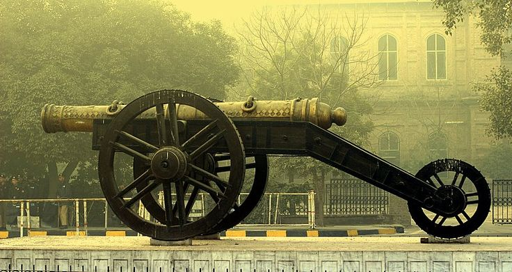 Kim's Gun.... A set of two guns used in the 3rd Battle of Panipat, 1761 AD by Ahmad Shah Abdali, Afghan king to defeat the Mahratta forces outside Delhi... The second gun was lost I while crossing the river on the way to Kabul. Kipling wrote ' who holds Zamzama, that fire breathing dragon, holds the Punjab; for the great piece is always first of the conquerors loot'.