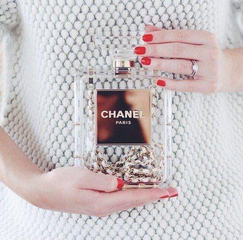 ♔ Chanel, totally transparent.  http://meikkibeibi.blogspot.fi