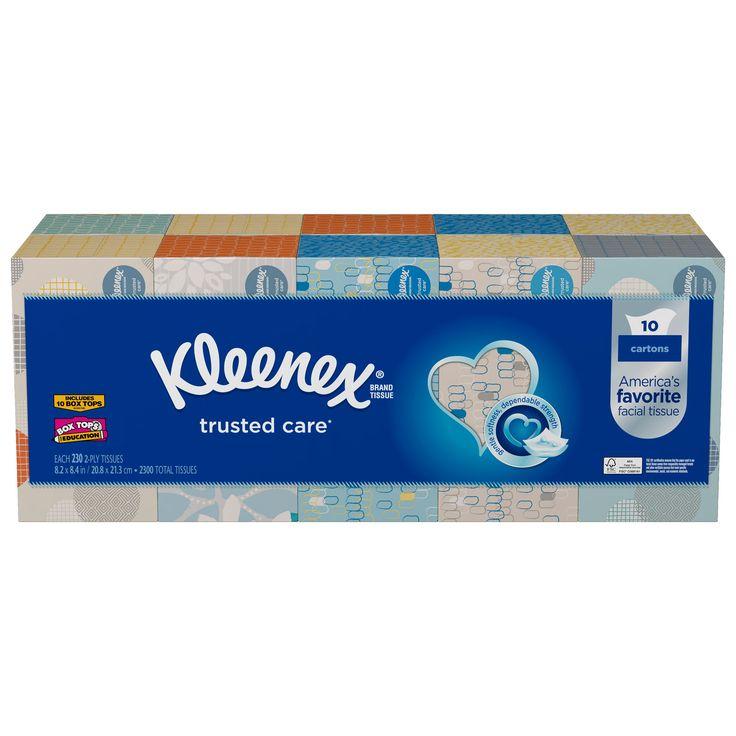 Kleenex Facial Tissue Bundle 10-pack