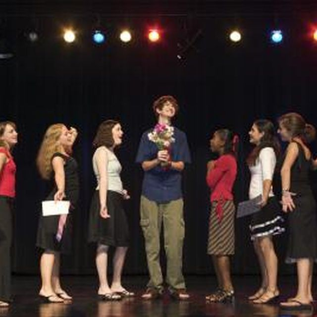 Acting games encourage self-expression among teens.