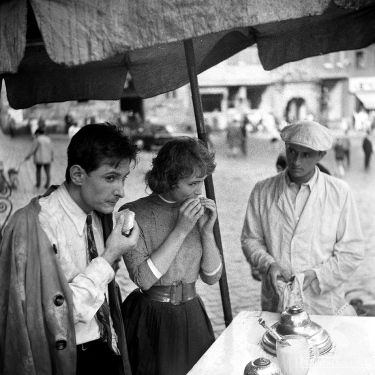 "Scene from Kazimierz Kutz's ""Nobody's Calling"", 1960. Photo: The National Film Archive"