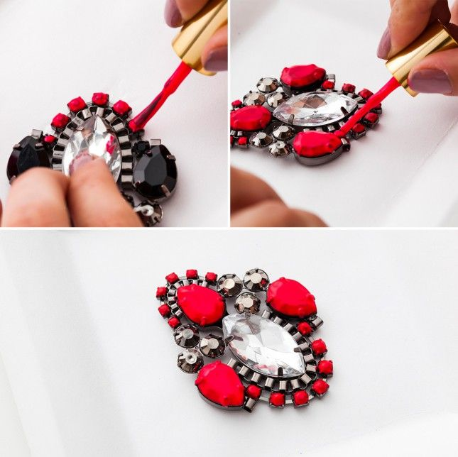 Best 25 nail polish jewelry ideas on pinterest diy for Crafts using nail polish