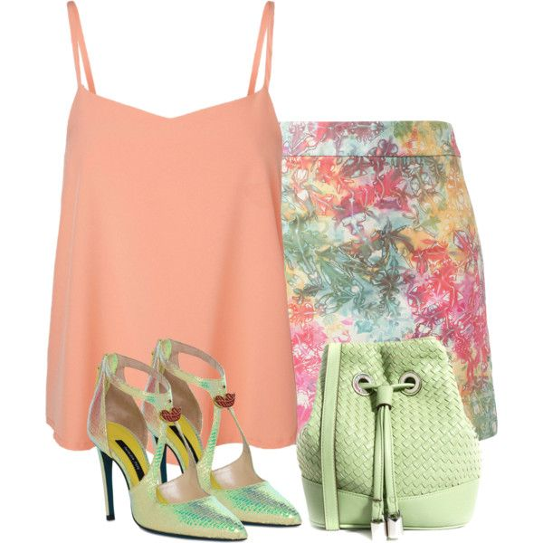 Untitled #715 by earthlyangel on Polyvore featuring мода, Vero Moda, House of Holland, Patrizia Pepe and French Connection