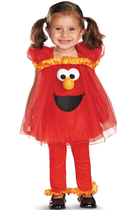 Check out the deal on Sesame Street Frilly Light Up Elmo Infant/Toddler Costume - FREE SHIPPING at PureCostumes.com
