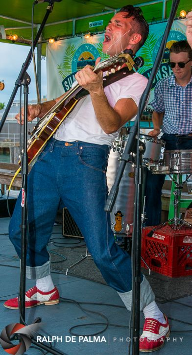 Jerrod Isaman and his band Patrick and the Swayzes