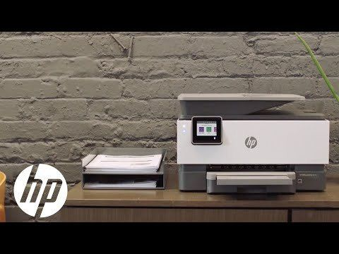 OfficeJet Pro 9015 Product Detail Page Video | HP OfficeJet