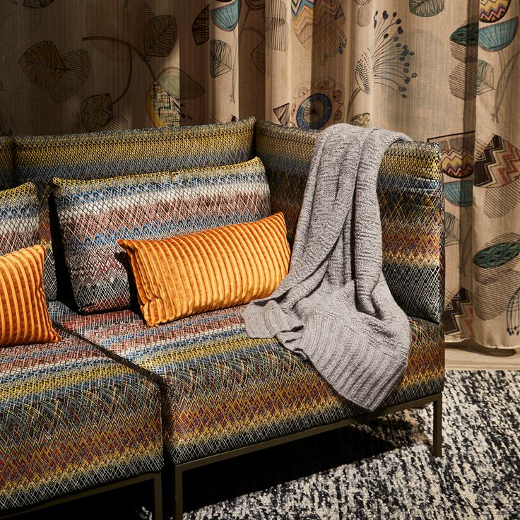 Missoni Home Chair Virgola: MISSONI HOME © Agathe Gaboriau