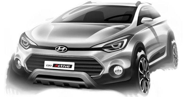 Hyundai i20 Active India Launch On March 17 http://www.carblogindia.com/hyundai-i20-crossover-india/