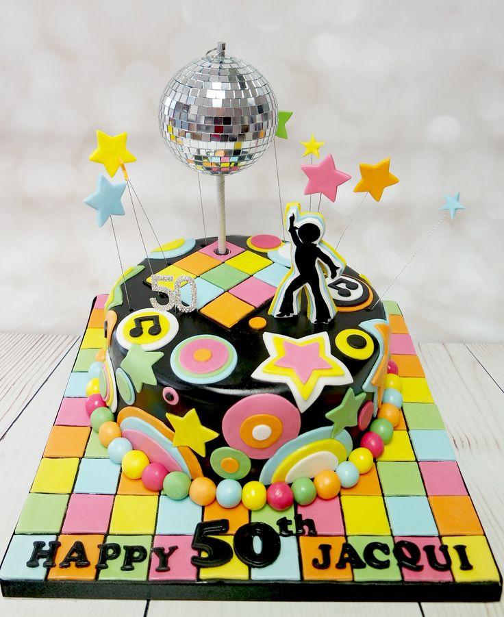 Fun and funky disco cake! #discocake #funandfunkydiscocake