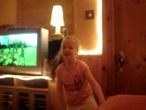 Ceili does the Haka (Autism)