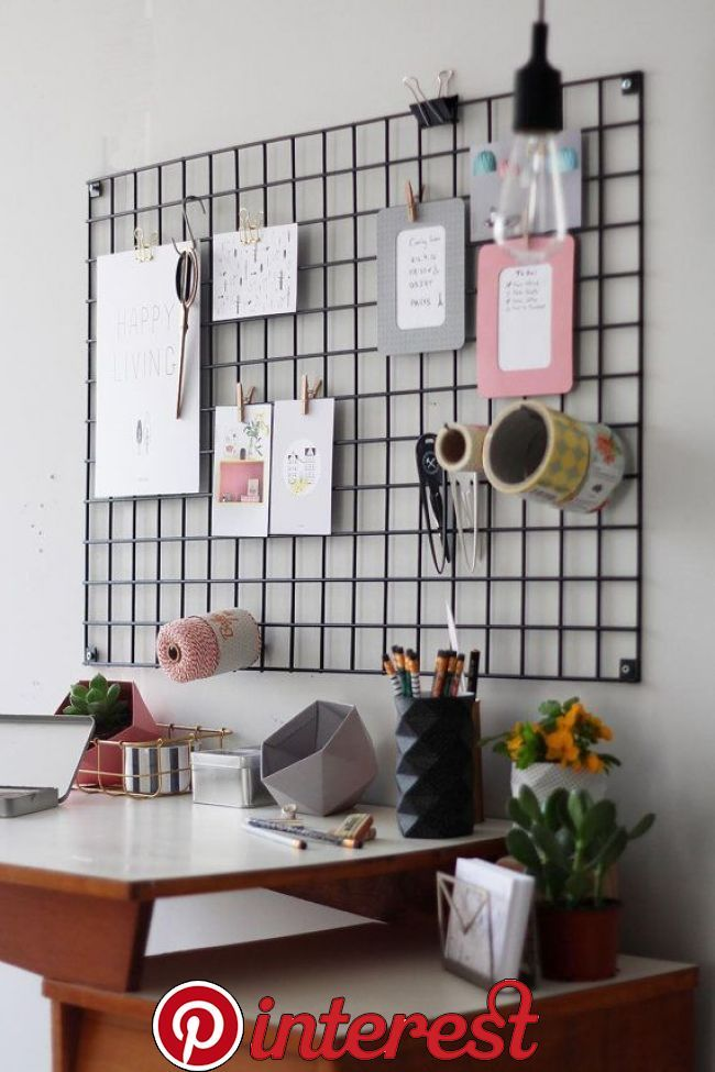 51 Best Diy Decor Ideas For Your Home Using Wire Wall Grid Room