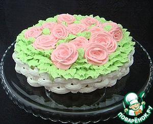 Торт с суфле из авокадо