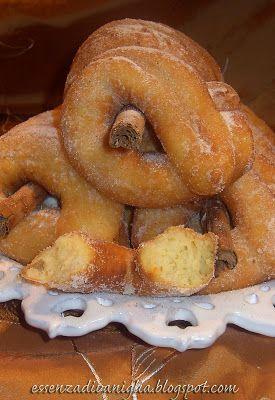 Essenza di Vaniglia: Zeppole di carnevale o ciambelle dolci o...