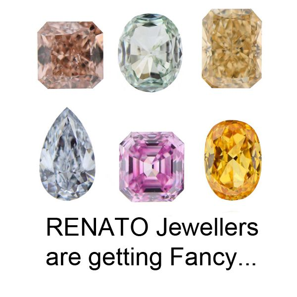 Fancy coloured #diamonds now available from Renato Diamonds Melbourne.