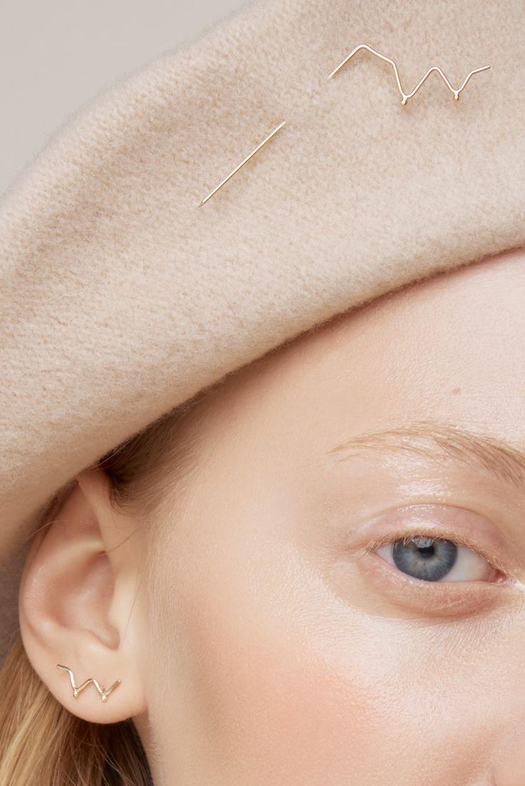 collection - just like a woman - Anna Lawska Jewellery / model - Kaja Werbanowska /photo - Kristof Krolak / make up - Paulina Kurowiak