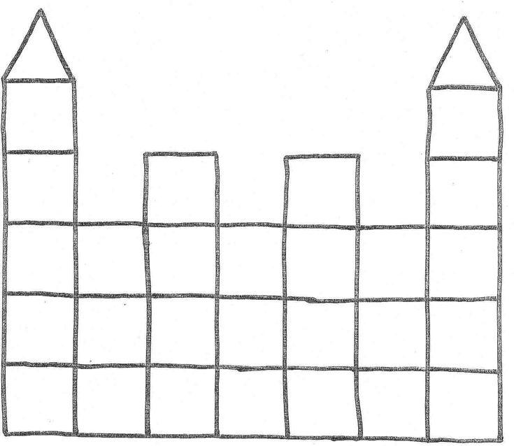 mozaiek kasteel