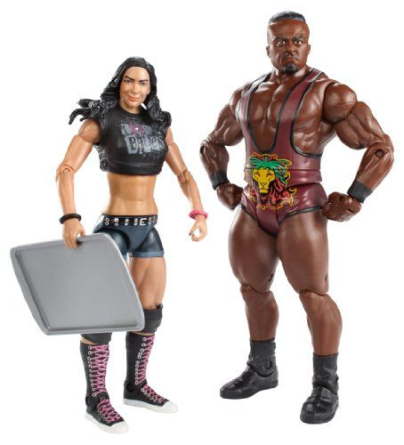 WWE Series #28 Big E Langston and AJ Lee Figure with Cookie Sheet (2-Pack) WWE http://www.amazon.com/dp/B00IL7G80U/ref=cm_sw_r_pi_dp_BsPqub0KPCP9W