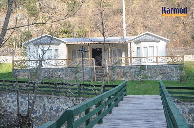 Prefabrik tek katlı ev