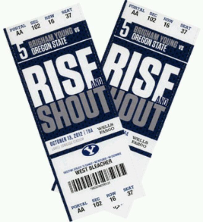 BYU Football Tickets