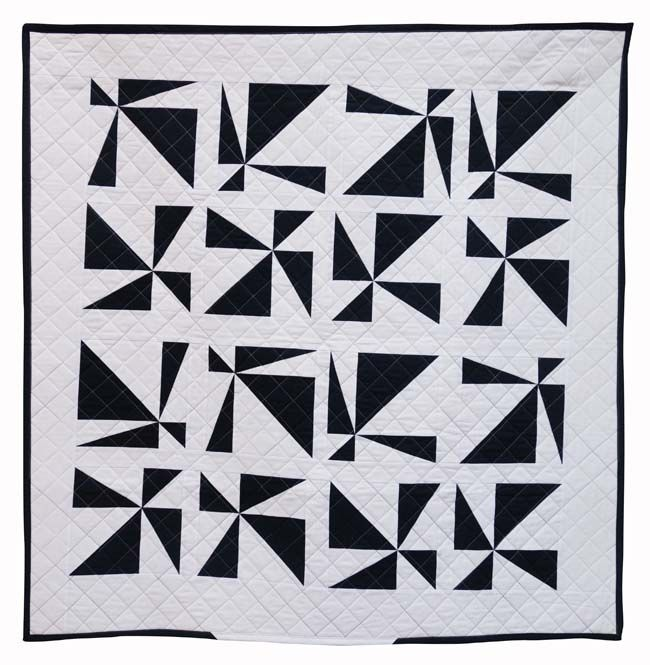 Tilting at Windmills by Susan Strong, 2015 | The Modern Quilt Guild