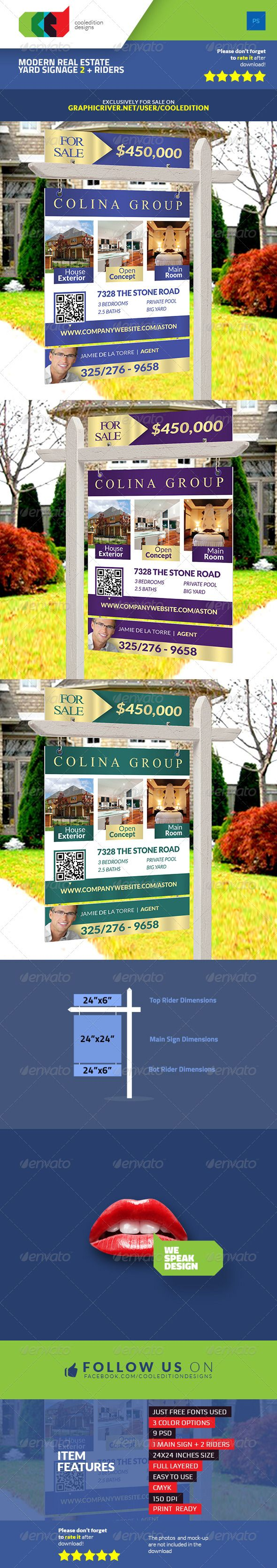 11 best Real Estate Yard Signs images on Pinterest | Print ...