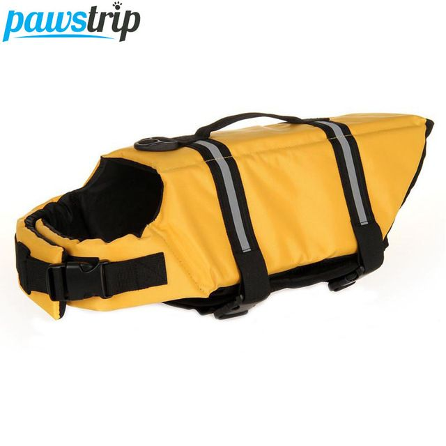 Oxford Breathable Mesh Pet Dog Life Jacket Summer Swimwear Puppy Life Vest Safety Clothes
