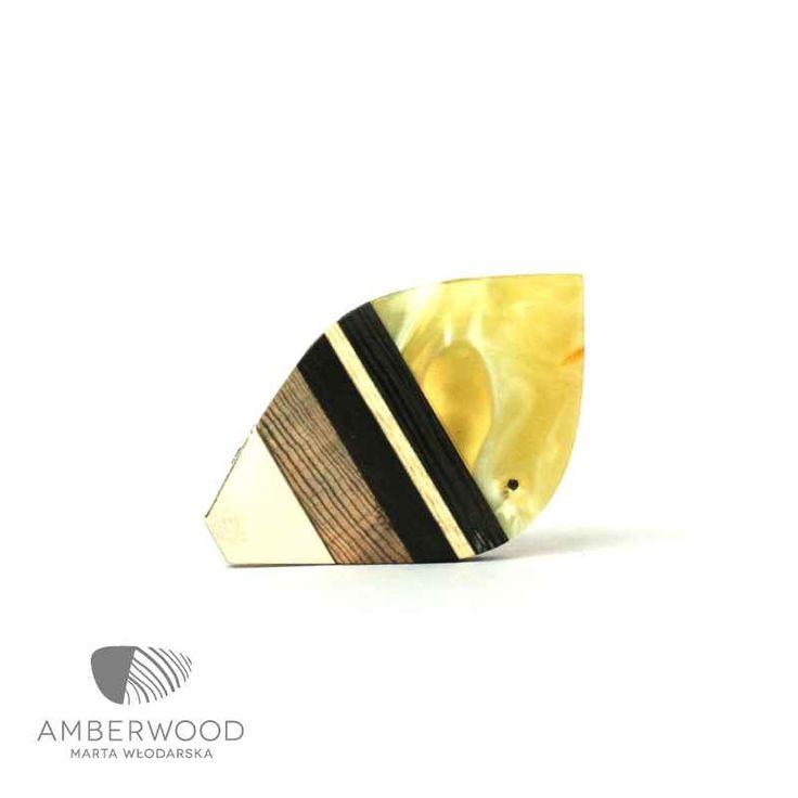 Necklace Amberwood LEAFXS1N