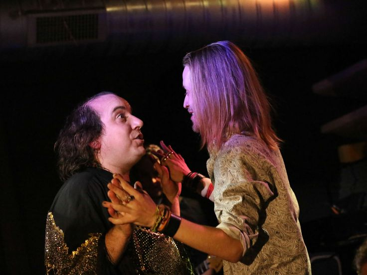 Har Mar Superstar and the Pizza Underground perform