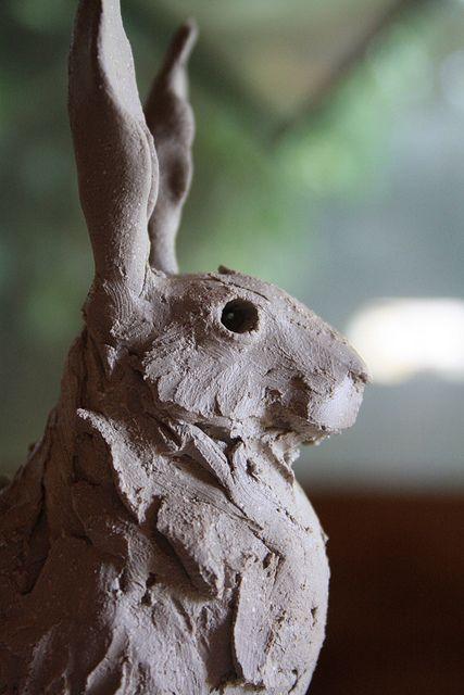 hare face by Joe lawrence art work, via Flickr