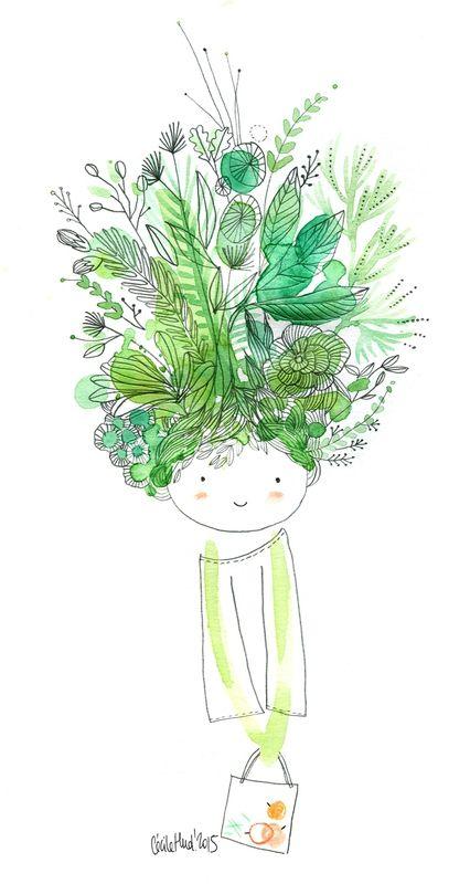 1.1 a ilustração de Cecile Hudrisier