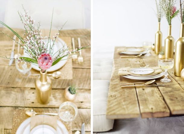Is this rustic glamour or what?