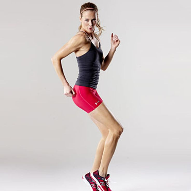 Power moves  - Get your heart pumping with these fat-burning moves from YogaWorks NYC instructor Anna Hughes Dioguardi. This workout, based on her new Cardio Flow class, knocks off toning and cardio at the same time.